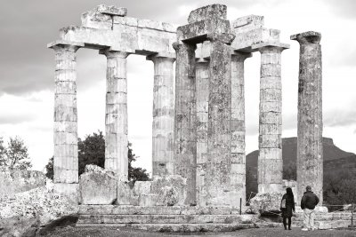 The temple of Zeus   Ancient Nemea